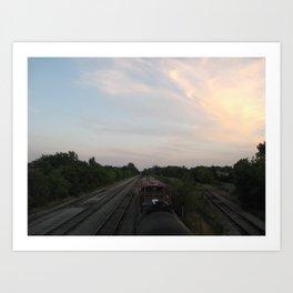 Trillium Railways Art Print