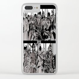 Drifters 4 Clear iPhone Case