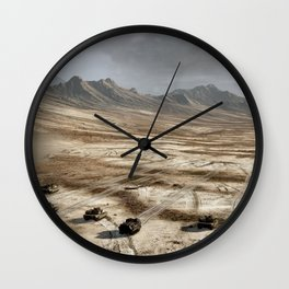 Tanks Wall Clock