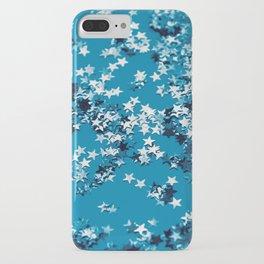 Blue Ocean Glitter Stars #1 #shiny #decor #art #society6 iPhone Case