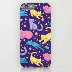 Playful Kittens Pattern iPhone 6s Slim Case