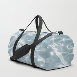 Crystal Clear Blue Water Photo Art Print | Crete Island Summer Holiday | Greece Travel Photography Duffle Bag