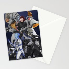 Squad Stationery Cards