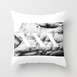 XXX - Nood Dood Throw Pillow
