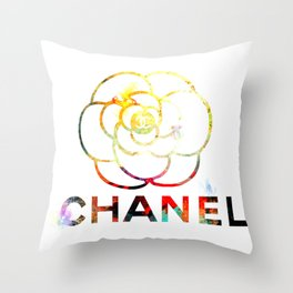 Fashion Flower Throw Pillow