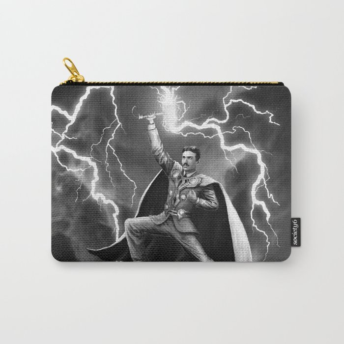 Tesla: God of Thunder Carry-All Pouch
