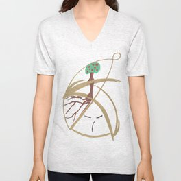 "Mr. ""Tree in hat!"" Unisex V-Neck"