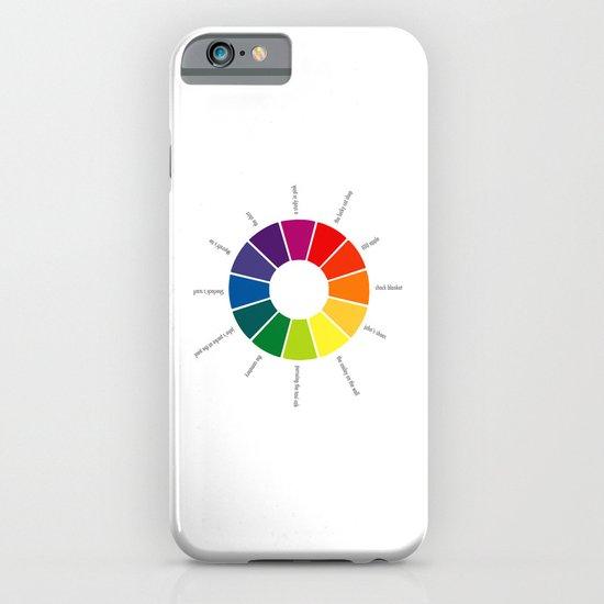 A Visual Study of Sherlock iPhone & iPod Case