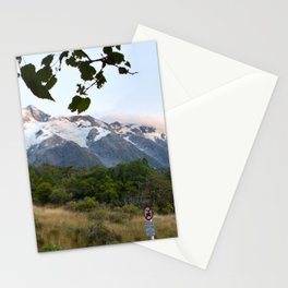 New Zealand Mount Cook Stationery Cards
