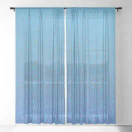 Words of Comfort Sheer Curtain