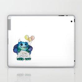 I Love You Monster  Laptop & iPad Skin