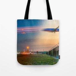 Time Traveling Machine Tote Bag