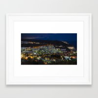 puerto rico Framed Art Prints featuring Puerto Rico by night  by Rob Hawkins Photography