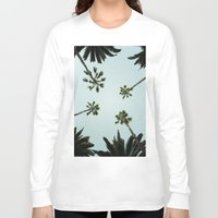 palm trees Long Sleeve T-shirts featuring Palm trees by chitoteno