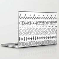 nordic Laptop & iPad Skins featuring NORDIC by Annet Weelink Design