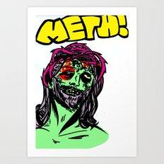 Meth Art Print