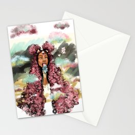Relax a lil bit Stationery Cards