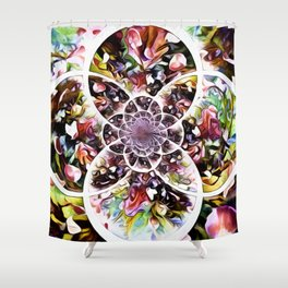 Petals On The Wind Shower Curtain
