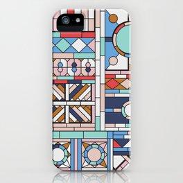 Pop art windows iPhone Case