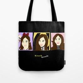 Knock Knock! Tzuyu Version Tote Bag