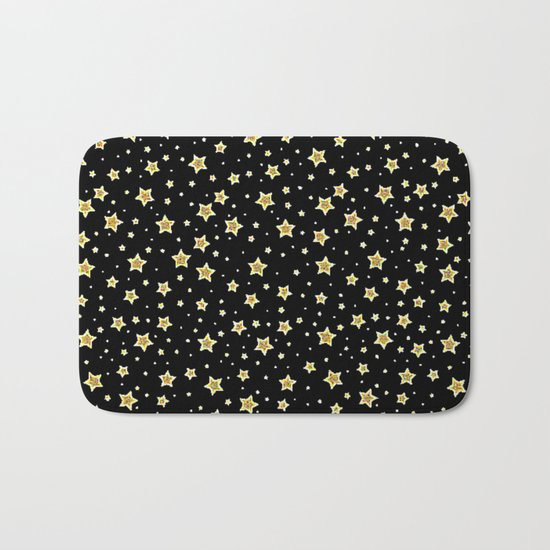 Stars  Bath Mat