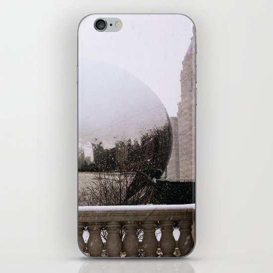 Snowy Bean iPhone & iPod Skin