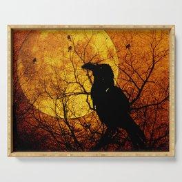 Harvest Moon Raven Serving Tray