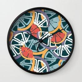 Fun + Fruity Wall Clock