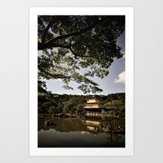 Kinkakuji/The Golden Pavilion, Kyoto Art Print