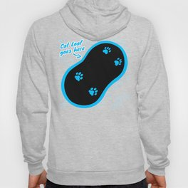 Cat Loaf Goes here (Blue) Hoody