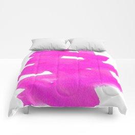 Superwatercolor Pink Comforters