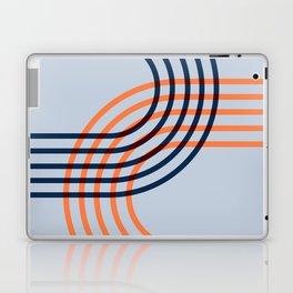 Counterbalance - orange blue Laptop & iPad Skin