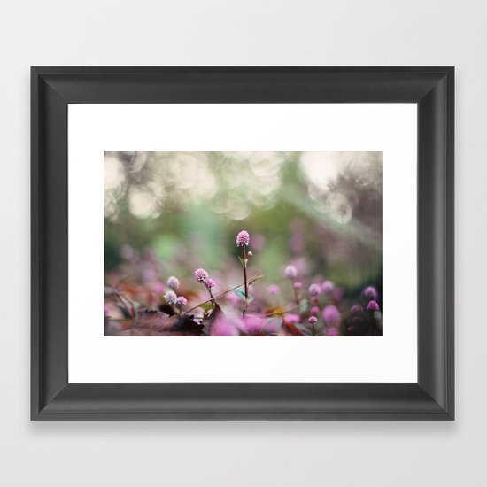 Stand Back Up Framed Art Print