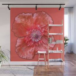Poppy monochromatic Wall Mural