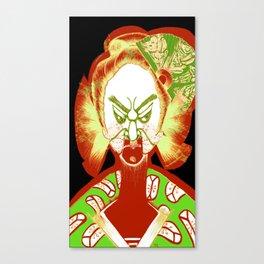 Friendly No Face v2 Canvas Print