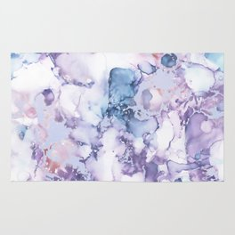 Painted Marble Texture Rug