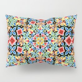 Cosmic Ombre Mandala Pillow Sham