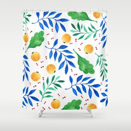 Lovely leaf and fruit plant dream Shower Curtain