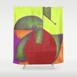 Into the Green 2 Shower Curtain