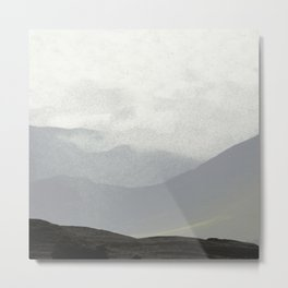 Rannoch Moor - mists and mountains Metal Print
