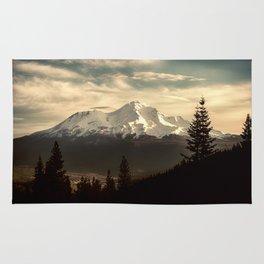 Mount Shasta Waking Up Rug