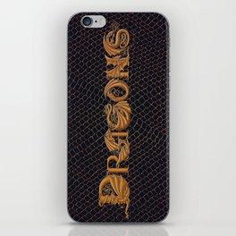 """Dracoserific"" Dragons iPhone Skin"