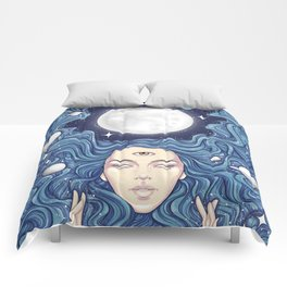 Trippy Chicks Comforters
