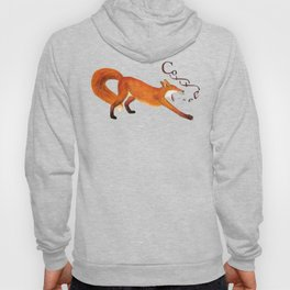 Coffee Fox Hoody