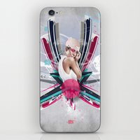 lucy iPhone & iPod Skins featuring LUCY by Stéphanie Brusick / Art by shop