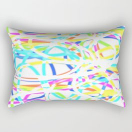 Rings but not the Olympic ones Rectangular Pillow