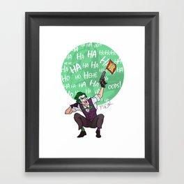 The Joker Animated Framed Art Print