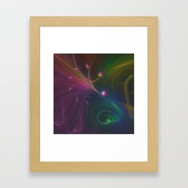 Festive Night Framed Art Print