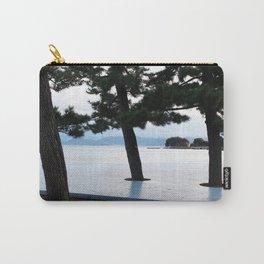 Japanese Cedar Trees Carry-All Pouch