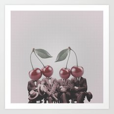 Cherry Mugshot Art Print